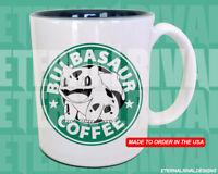 Bulbasaur Pokemon Starbucks Anime Manga Japanese Insipred Cartoon Geek Nerd Mug