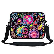 Neoprene Laptop Bag Case with Shoulder Strap Fit  Chromebook Netbook 2701