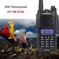 Baofeng UV-9R Plus Walkie Talkie 2-Way Radio UHF/VHF 10km 128CH Waterproof Radio