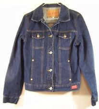 Guess Authentic Jeans Jacket Girls Size 10M Button Front Made in USA