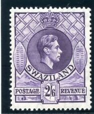 Swaziland 1938 KGVI 2s 6d bright violet (p13½x13) MLH. SG 36.