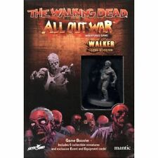 THE WALKING DEAD ALL OUT WAR - WALKER GAME BOOSTER - MANTIC - 1ST CLASS NEXT DAY