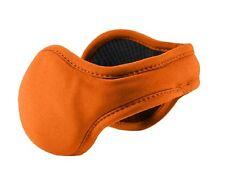 Men's Urban by 180s Orange Blaze Behind-the-Head Ear Warmer Ear Muffs NEW!
