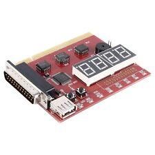 USB 4-Digit PC LPT Laptop Diagnostic Card PCI Analyzer Tester E5S4