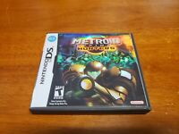 Metroid Prime: Hunters (Nintendo DS 2006) TESTED Holocover Variant Authentic