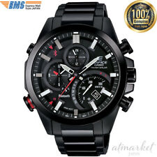 Casio Edifice Time Traveller Smartphone Link Mens Watch in Box JAPAN