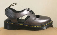 DR. MARTENS GENNA PEWTER SPECTRA PATENT   SHOES SIZE UK 3