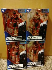 GI Joe Classified Red Ninja Lot Of 4 Figures case fresh