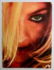 Rare Madonna GHV2 Double Sided Canadian Misprint Error Recalled Promo Poster