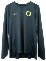 New Nike Womens M University Of Oregon Ducks Basketball Training Long Sleeve Top