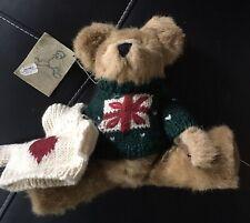 Casimir J B Bean & Assoc. with 2 Winter Sweaters Beige Plush Bear Investment