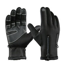 Waterproof Winter Full Finger Men Cycling Gloves Thermal Windproof Touch screen