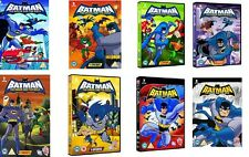 Batman The Brave and the Bold Season 1+2+3+4+5+6+7+8 Series New DVD R4