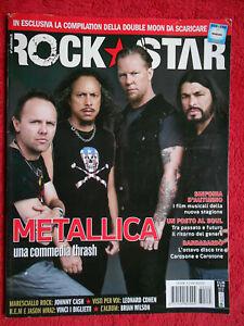 rivista ROCKSTAR 335/2008 Metallica Michael Franti Bandabardo' Tricky No cd