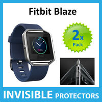 Fitbit Blaze Screen Protector Shields - Military Grade Quality - PACK OF 2