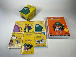 BBC Muzzy Learn French - Part 1 And 2 Children's Language Learning - 12 X DVDs