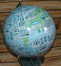 Globe Of Monuments And Name Place