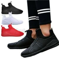 Mens Lightweight Breathable Running Sports Shoes Trainers Gym Hiking Sneake
