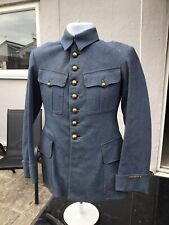 Original WW1 French Army Officers Tunic In Horizon Blue