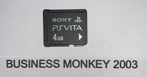 Official Sony PlayStation PS Vita Memory Card 4GB • SAME DAY DISPATCH