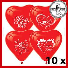 I Love You Luftballons Hochzeit Verlobung Liebeserklärung Wedding Standesamt