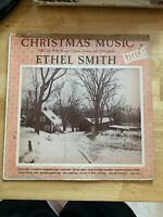 "USED! Ethel Smith: ""Christmas Music"" LP Vinyl Record-G"