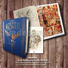 Tirage de Tête Enrico MARINI Les Aigles de Rome Livre 2 signé+ ex-libris