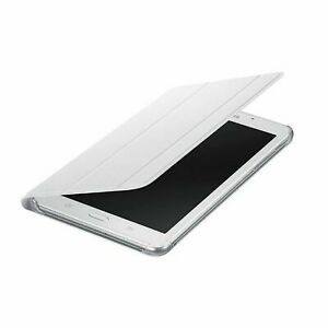 Custodia Book Cover Bianca Originale Samsung EF-BT280 Per Galaxy Tab A 7.0