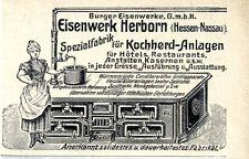 Burger Eisenwerke Eisenwerk Herborn Kochherd-Anlagen 1905