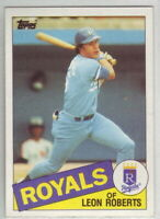 1985 Topps Baseball Kansas City Royals Team Set