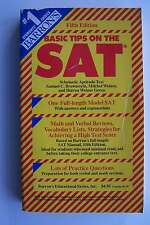 Barron's Basic Tips on the SAT Scholastic Aptitude Test Paperback Reference Book