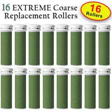 16 X EXTREME Coarse Micro Mineral Emjoi Micro-Pedi Compatible Replacement Roller