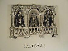 THÉÂTRE ANGLAIS / VOLPONE ou LE RENARD  de Ben Jonson in-folio cuivres gravés EO