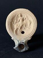 lampe à huile romaine, 69 - 98 ap. J.-C., roman oil lamp, archéologie