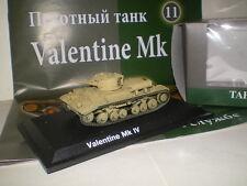 Сhar britannique capturés Valentine Mk.IV  (1/72)