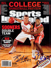 Griffin & Paris Oklahoma SIGNED Sports Illustrated NL