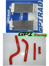 FOR Yamaha Aluminum radiator and hose YZ125 YZ125 1996-2001 97 98 99 2000