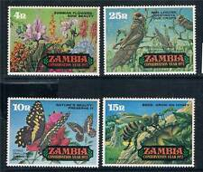 Zambia 1972 Conservation Year SG 177/80 MNH