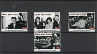 Papua New Guinea 2013 MNH John F Kennedy 50th Memorial Anniversary 4v Set JFK