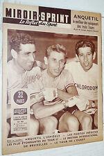 MIROIR SPRINT N°582 1957 CYCLISME TOUR FRANCE ANQUETIL FOOTBALL SCO ANGERS