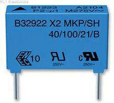 EPCOS - B32922C3684M - CAPACITOR, CLASS X2, 680NF, 305VAC Price For: 5