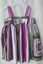 Calvin Klein Baby Girl Multi-Colored Sundress size 12 Months NWT G82026