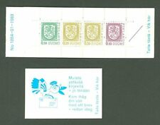 Booklet C45 MNH Finland 1983 Coat of Arms Lion