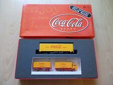 HO - Coca Cola - Planengüterwagen + WIKING Hängerzug - (Art.nr.: LC21022) - OVP!