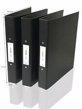 RING BINDER FILES FOLDERS 2 RINGS OFFICE HOME FILES STORAGE A4 x 3