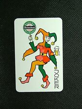 1 x Joker playing card single swap Heineken Beer Biere ZJ1405