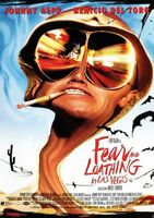 FEAR & LOATHING IN LAS VEGAS Movie PHOTO Print POSTER Johnny Depp Film Art 001
