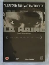 LA HAINE 10th Anniversary Edition DVD Excellent Condition inc Insert Booklet