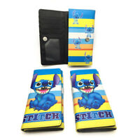 lilo&stitch cat Long purse wallet money card bags handbag purse gift hot