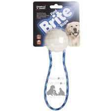 Sharples N Grant Find Brite Ball & ROPE Automatic LED Lights Upon Impact Dog Pup